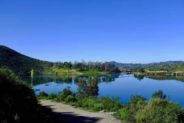 Fishing in poway california for Lake poway fishing
